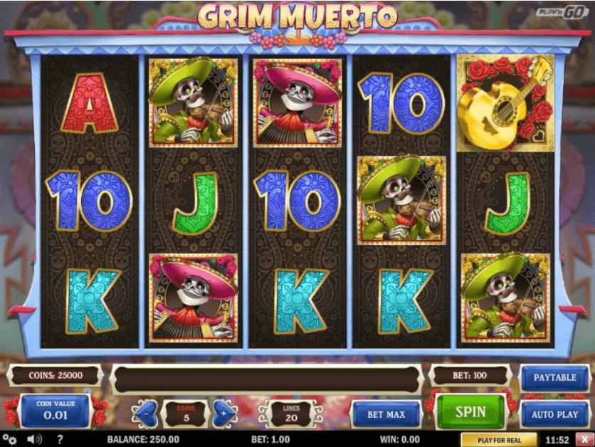 Grim Muerto - Slot Review - Bewertung - Test