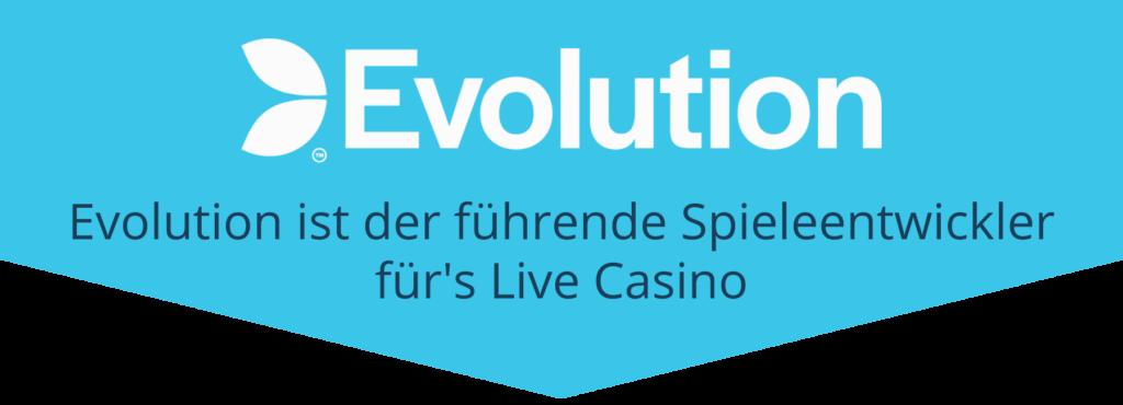 Evolution - die Nummer 1 für Live Casino