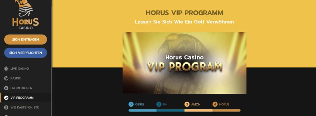 Horus Casino - VIP