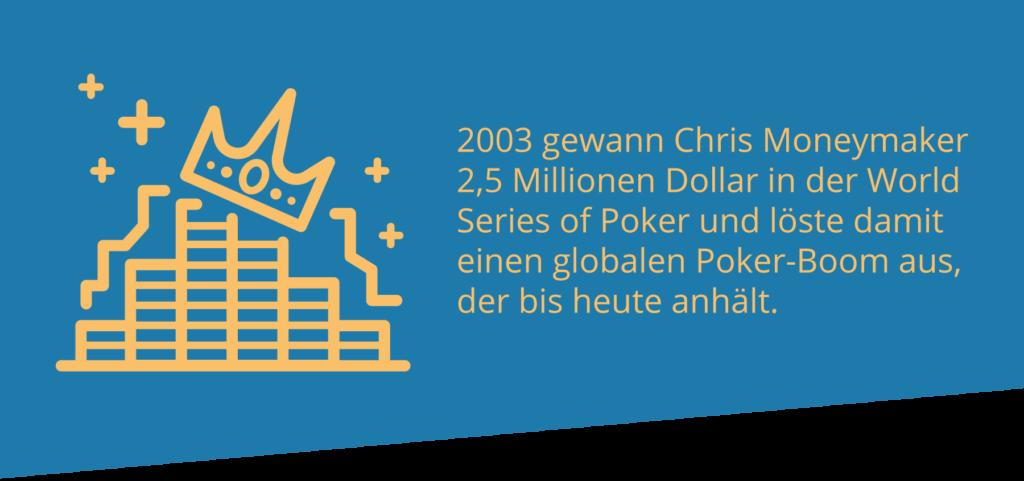 WSOP löst Poker-Boom aus