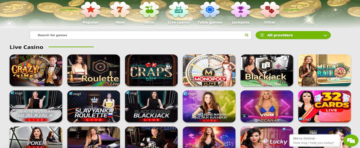 BetPat Live Casino