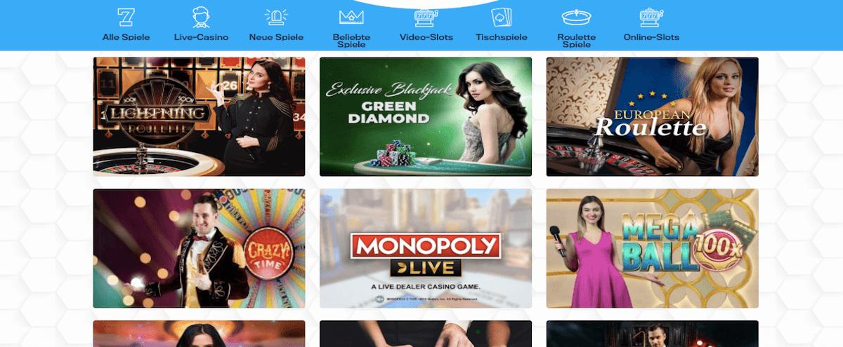 Casino Dome Angebot