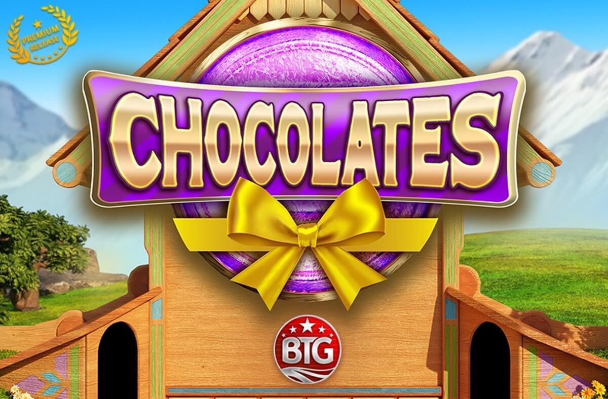 Chocolates Slot Logo