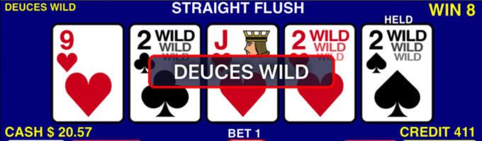Bild Deuces Wild Video Poker