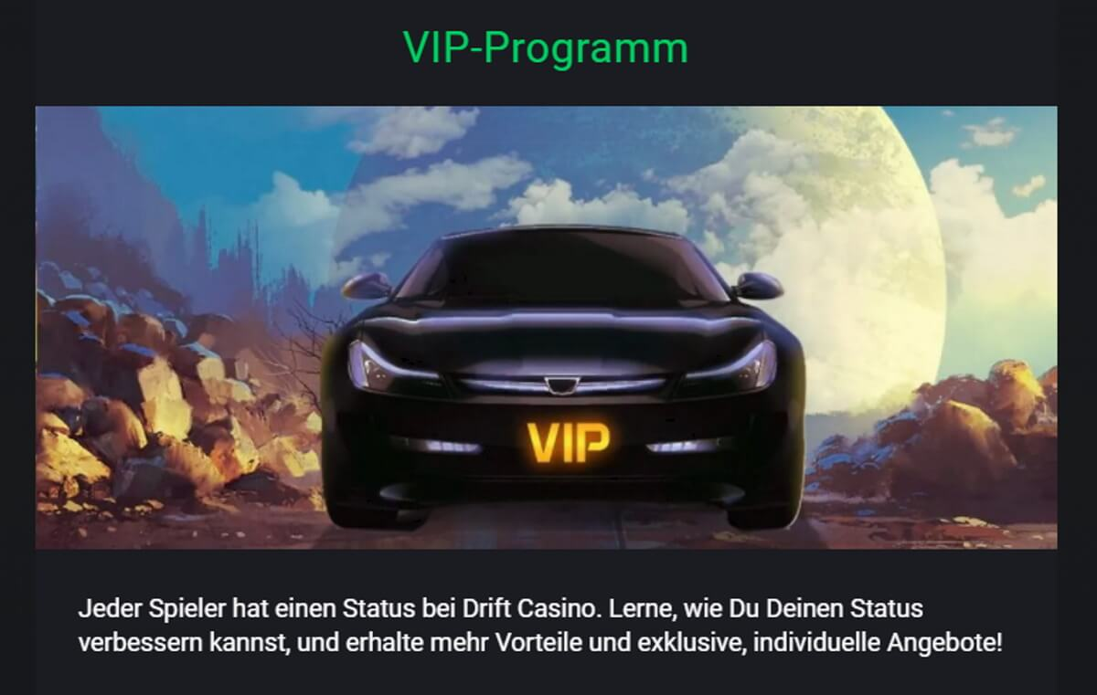 Drift Casino VIP