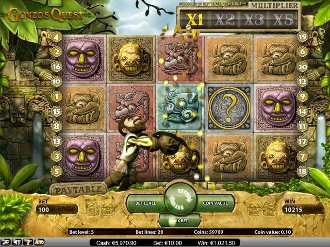 Bild Gonzos Quest Slot