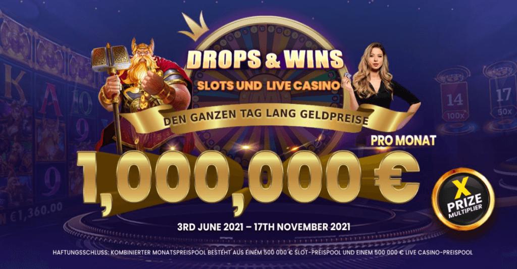 Drops & Wins Turnier von Pragmatic Play