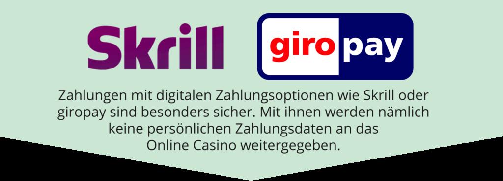 Zahlungen mit digitalen Methoden sind sicher.