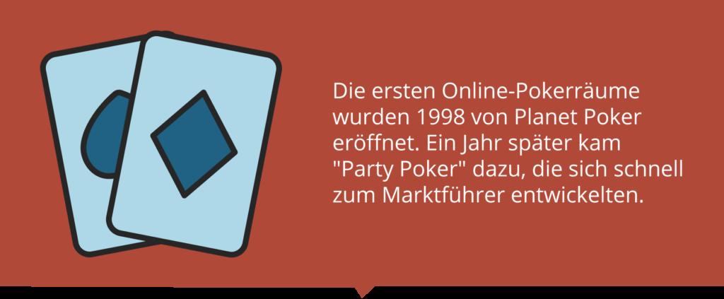 Erste Online Pokerräume