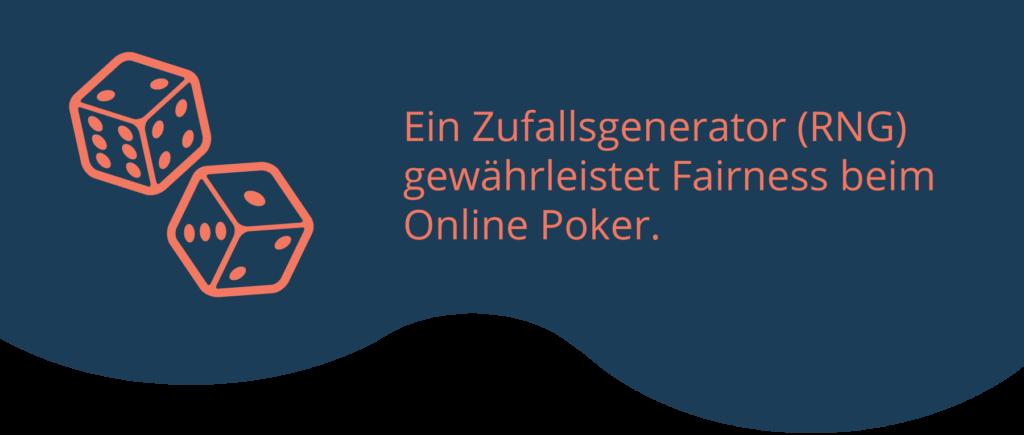 Zufallsgeneratoren sorgen beim Poker für Fairness