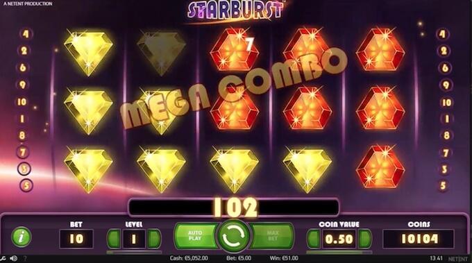 Bild Starburst Spielautomat