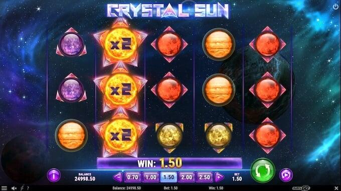 Bild Crystal Sun Bonus Slot