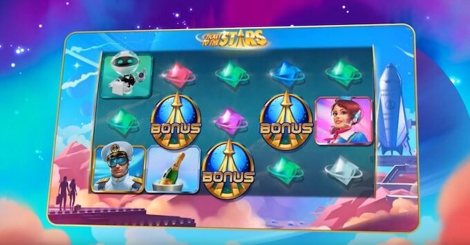 Bild Ticket to the Stars Slot Quickspin