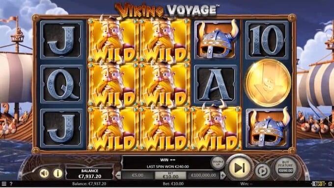 Bild Viking Voyage Spielautomat