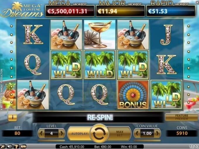 Bild Mega Fortune Dreams Slot