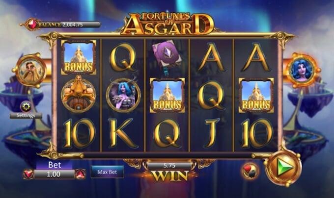 Bild Fortunes of Asgard Bonus