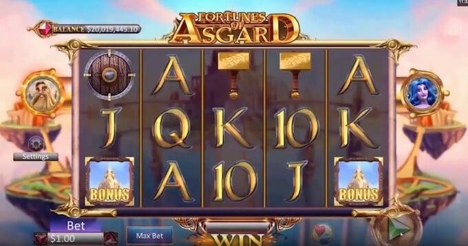 Bild Fortunes of Asgard