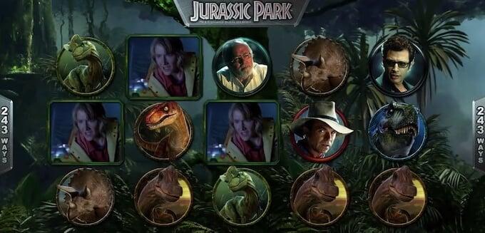 Bild Jurassic Park Spielautomat