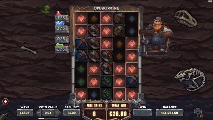 Bild Dwarf Mine Bonus Spiel