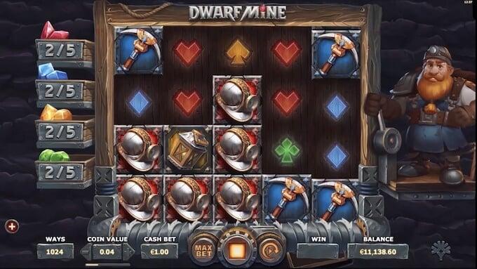 Bild Dwarf Mine Spielautomat