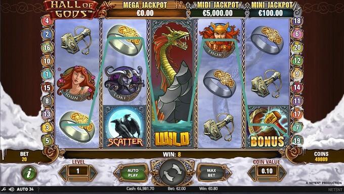 Bild Hall of God Spielautomat