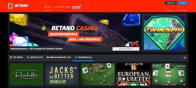 Bild Betano Casino
