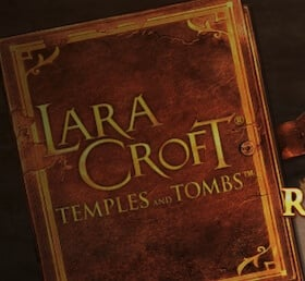Bild Lara Croft Slot Buch