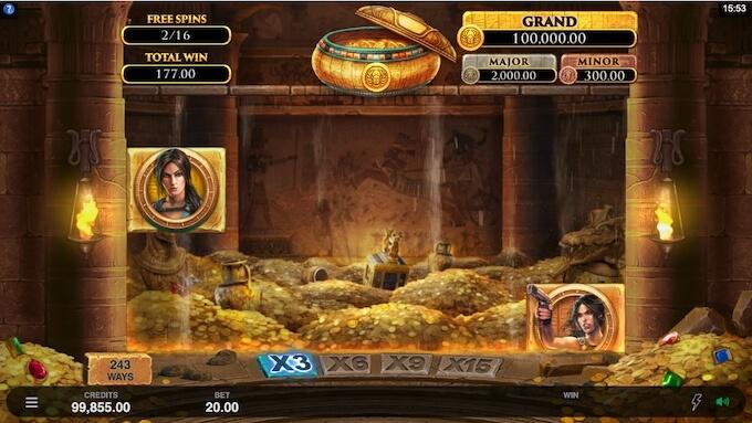Bild Lara Croft Slot: Temple and Tombs Gold