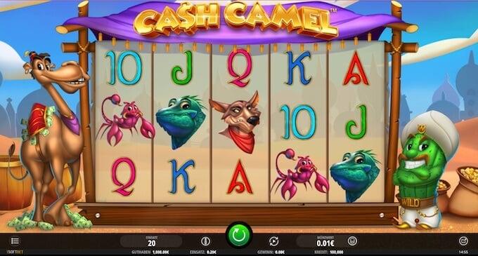 Bild Cash Camel Slot isoftbet