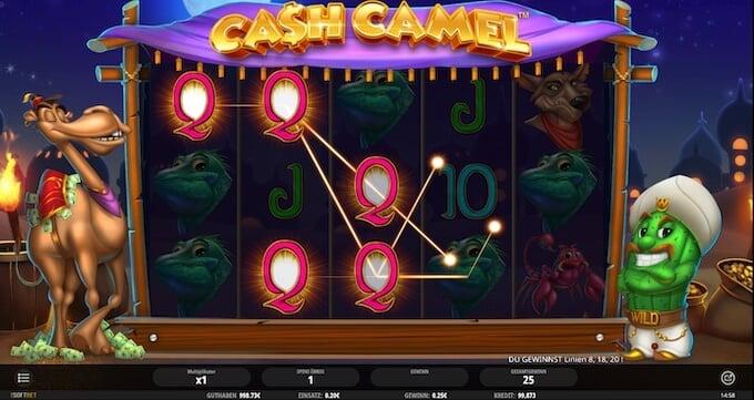 Bild Cash Camel Slot Freispiele