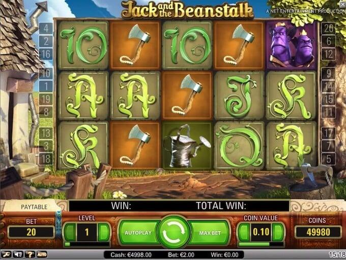 Bild Jack and the Beanstalk Spielautomat