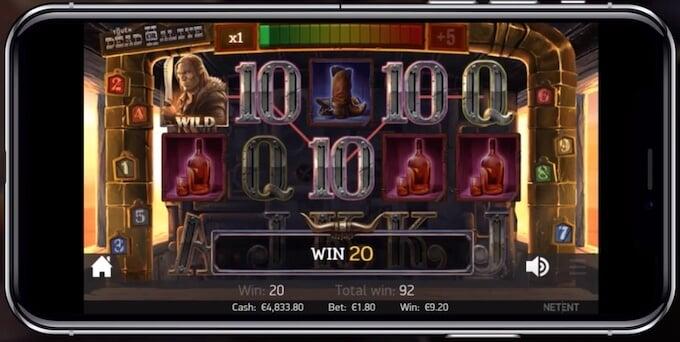 Bild Dead or Alive 2 Slot mobil