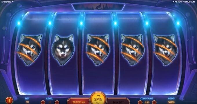Bild Spinsane Spielautomat