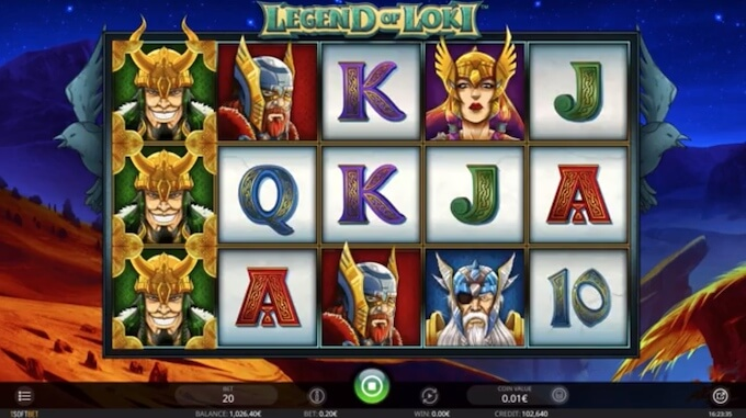 Bild Legend of Loki Slot