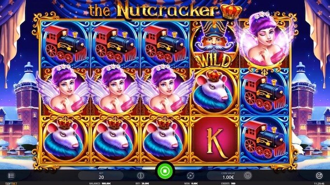 Bild The Nutcracker Slot Basisspiel