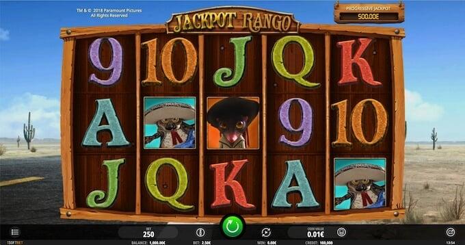 Bild Rango Spielautomat