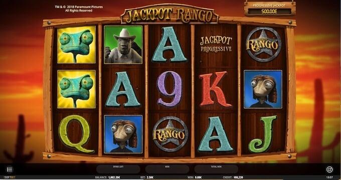 Bild Rango Slot Bonusspiel