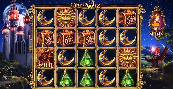Bild The Wiz Slot Bonus Level