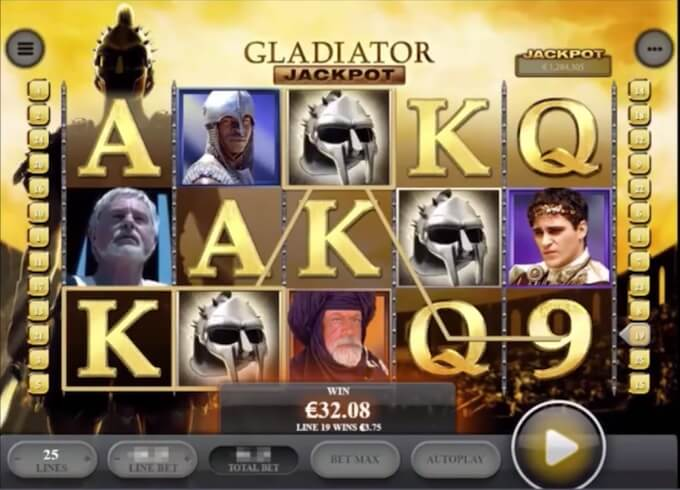 Bild Gladiator Jackpot Slot