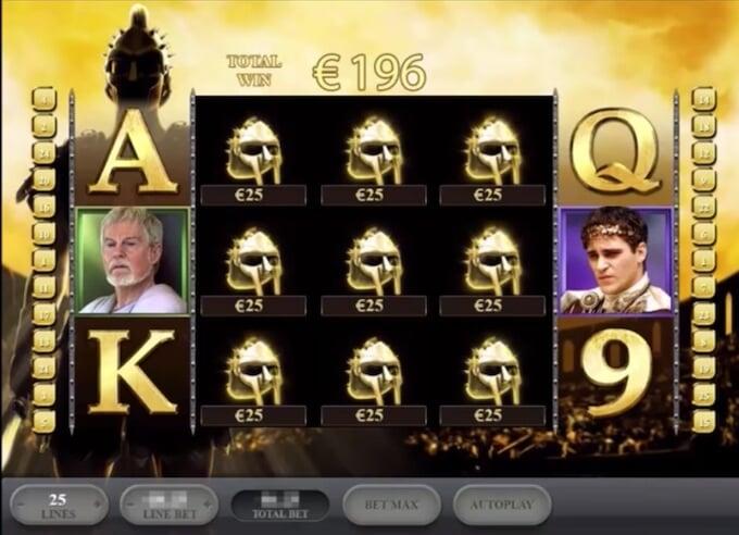 Bild Gladiator Slot Jackpot Bonus