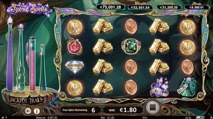 Bild Faerie Spells Slot Jackpot spiel