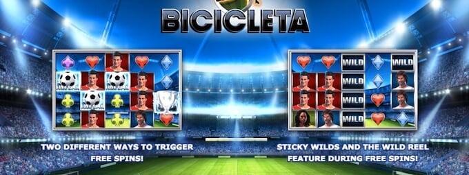 Bicicleta Slot Bonus