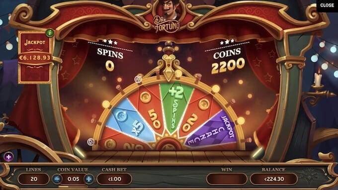 Dr Fortuno Jackpot Slot