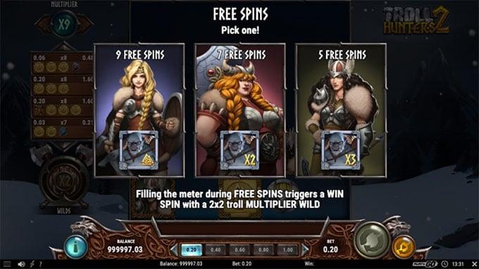 Troll Hunters 2 - Free Spins