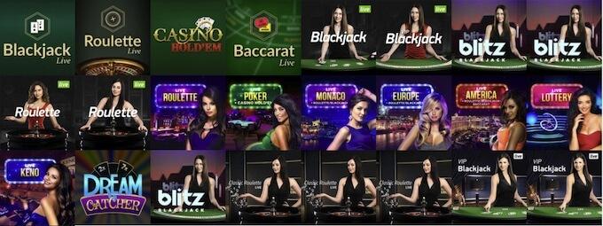 Vulkan Vegas Blackjack roulette
